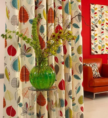 Best Lounge Images On Pinterest Curtain Fabric Blinds And - Autumn colours for the curtains
