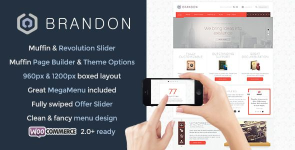 Themeforest – WordPress: Brandon – Responsive Multi-Purpose WordPress Theme on Themeforest Free Download http://themeforestfreedownload.com