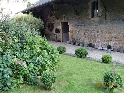 Jardin et Chambres d'hôtes à vendre près de Bayeux dans le Calvados