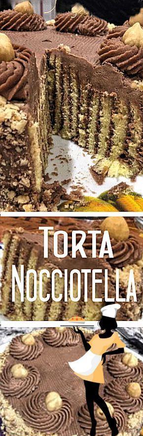 TORTA NOCCIOTELLA - Le Mille e una Torta di Dany&Lory