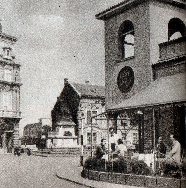 Székesfehérvár, Balatoni út, Béke Kávézó, Vörösmarty tér,  60as evek