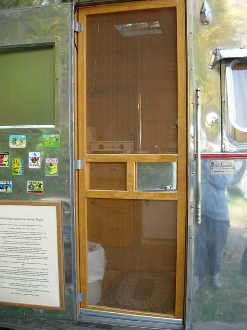 1000 Images About Camper Screen Doors On Pinterest