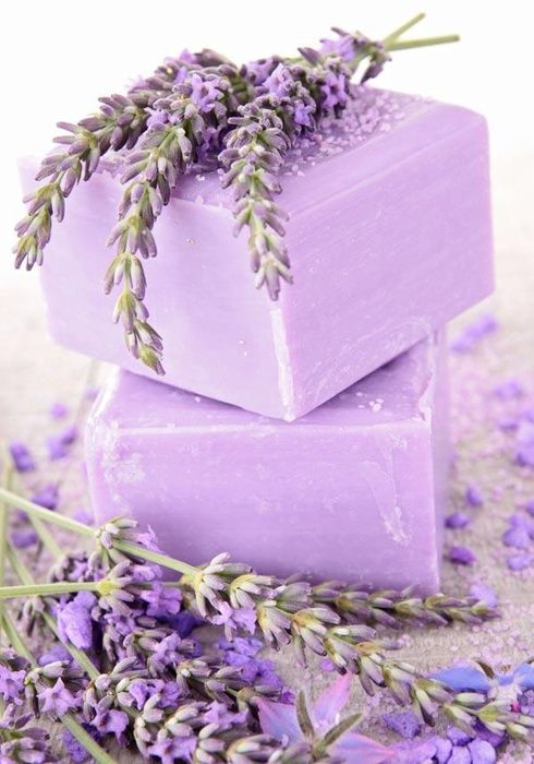 Рецепт приготовления лавандового мыла. Хочу рассказать, как я сделала вот такое…
