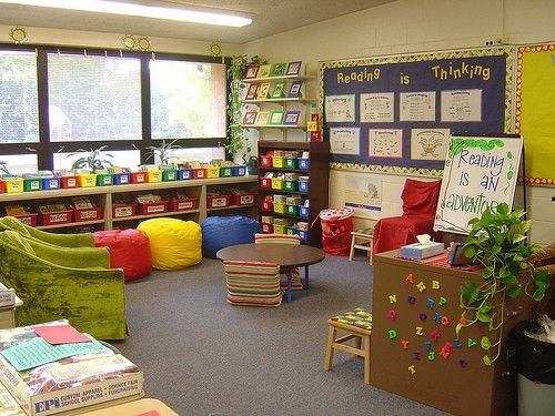 Classroom Library Ideas