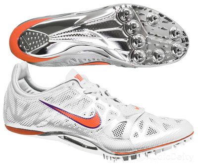90ead4e510a7 New NIKE Zoom Superfly R3 Mens Track   Field Spike Sprint Shoes - White