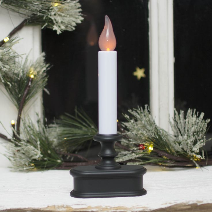 led window candles like this one are great to welcome your friends and family into your christmas candleschristmas lightschristmas - Christmas Candle Lights For Windows
