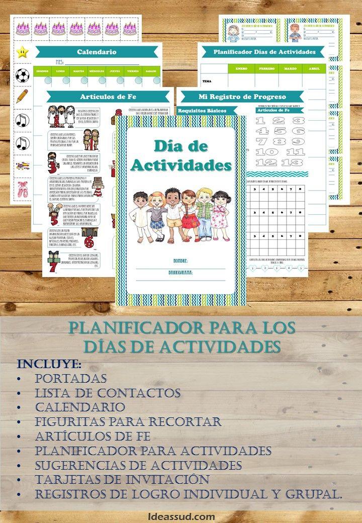 Abril: Planificador Días de Actividades