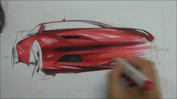 Car Sketch / Car Design /