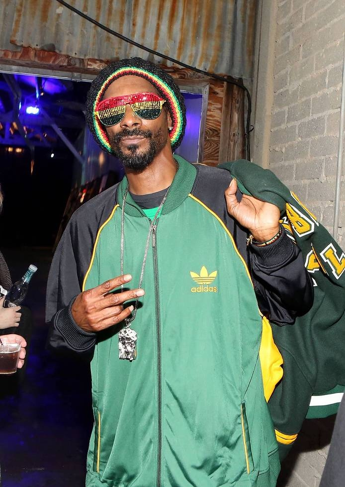 PacSun x Common Threads Event - SNOOP DOGG wearing #ADIDAS #JACKET