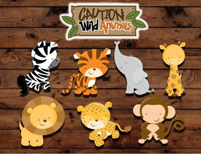 Zoo animal cupcake toppers, animal print birthday, Animal Birthday, Jungle birthday, jungle baby shower, baby animal by MyHeartnSoulBoutique on Etsy https://www.etsy.com/listing/173388713/zoo-animal-cupcake-toppers-animal-print