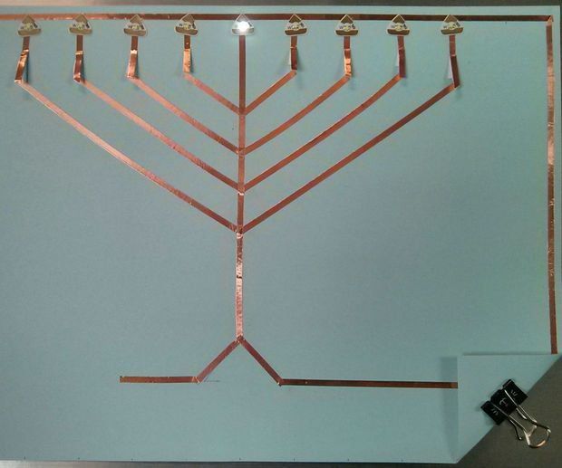 how to build a paper circuit