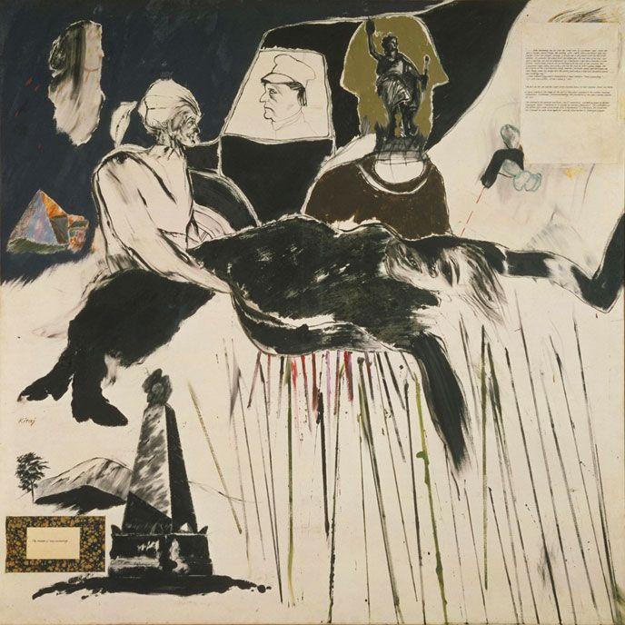 Le meurtre de Rosa Luxemburg, R.B. Kitaj, 1960