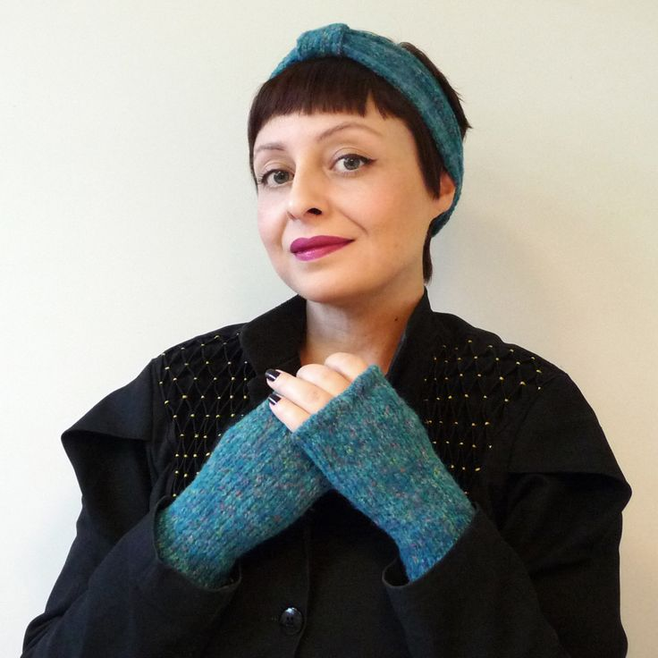 Tutorial luva + Turbante Blog Francine Lacerda
