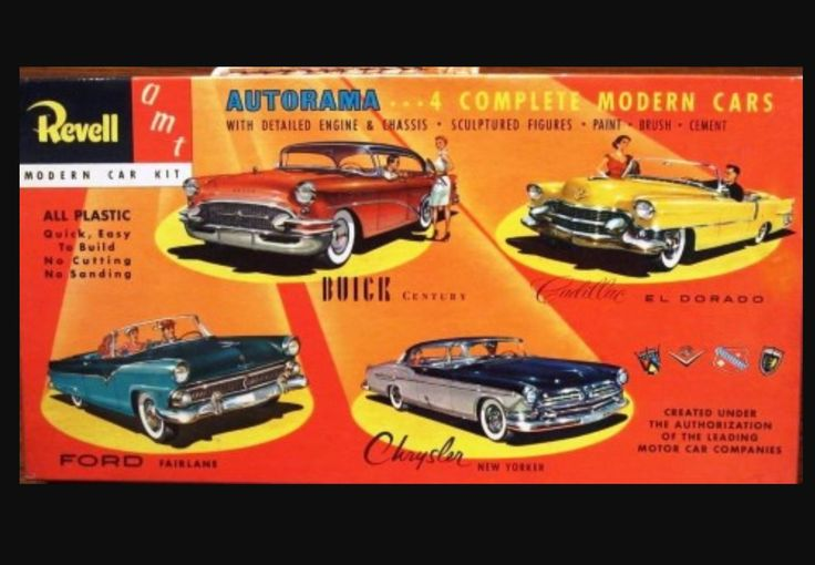 Vintage 4-Model Kit ~ VERY Rare
