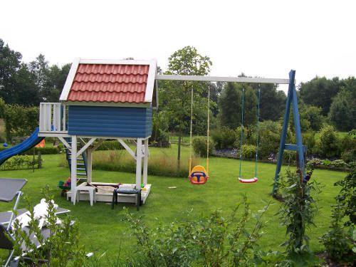 Elegant Kinderspielhaus MADITA x m Kinderhaus Holzhaus Stelzenhaus