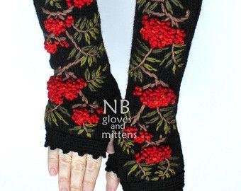 A maglia guanti senza dita guanti e muffole di nbGlovesAndMittens