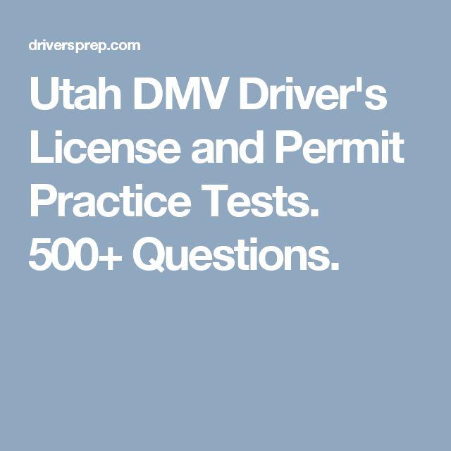drivers license utah practice test