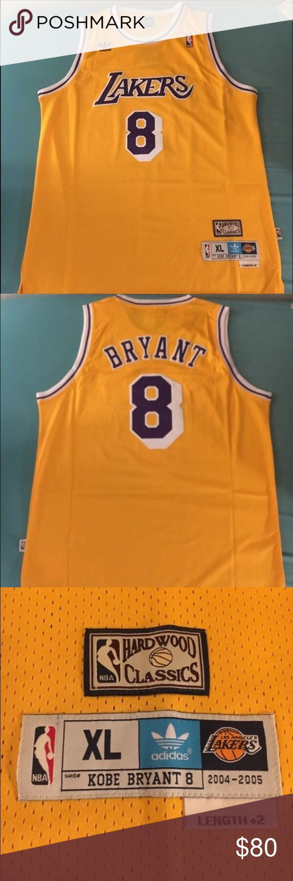 ef71a4b2974 ... Swingman Home Jersey Throwback Kobe Bryant 8 Lakers jersey Kobe Bryant  Los Angeles Lakers home jersey. Throwback Adidas NBA Los Angeles ...