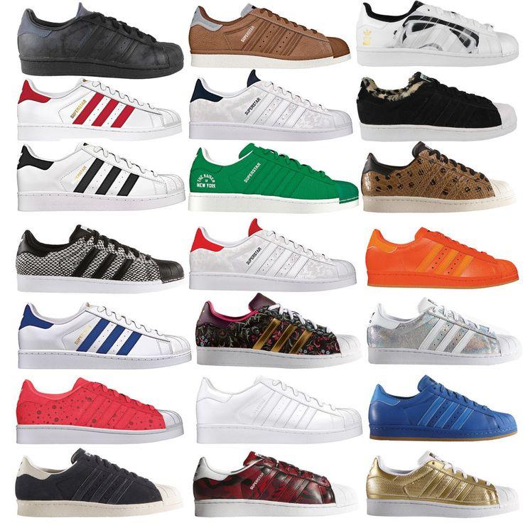 adidas Originals Superstar Kinder-/Damen-Sneaker Sportschuhe Turnschuhe