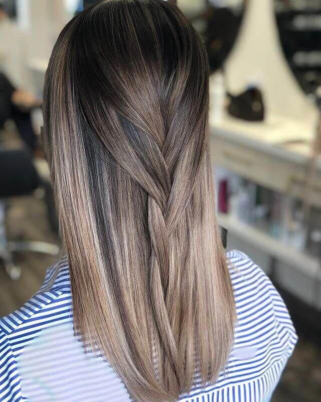 50 Fun Dark Brown Hair Ideas To Shake Things Up Brown Blonde