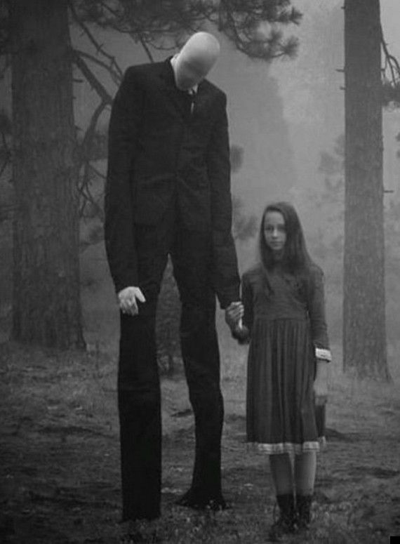 Slender Man. why follow him  when he's fake seriously??