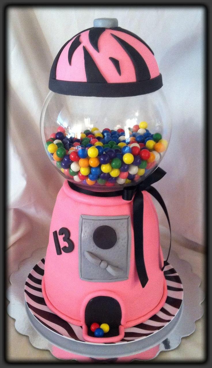 pink bubblegum machine