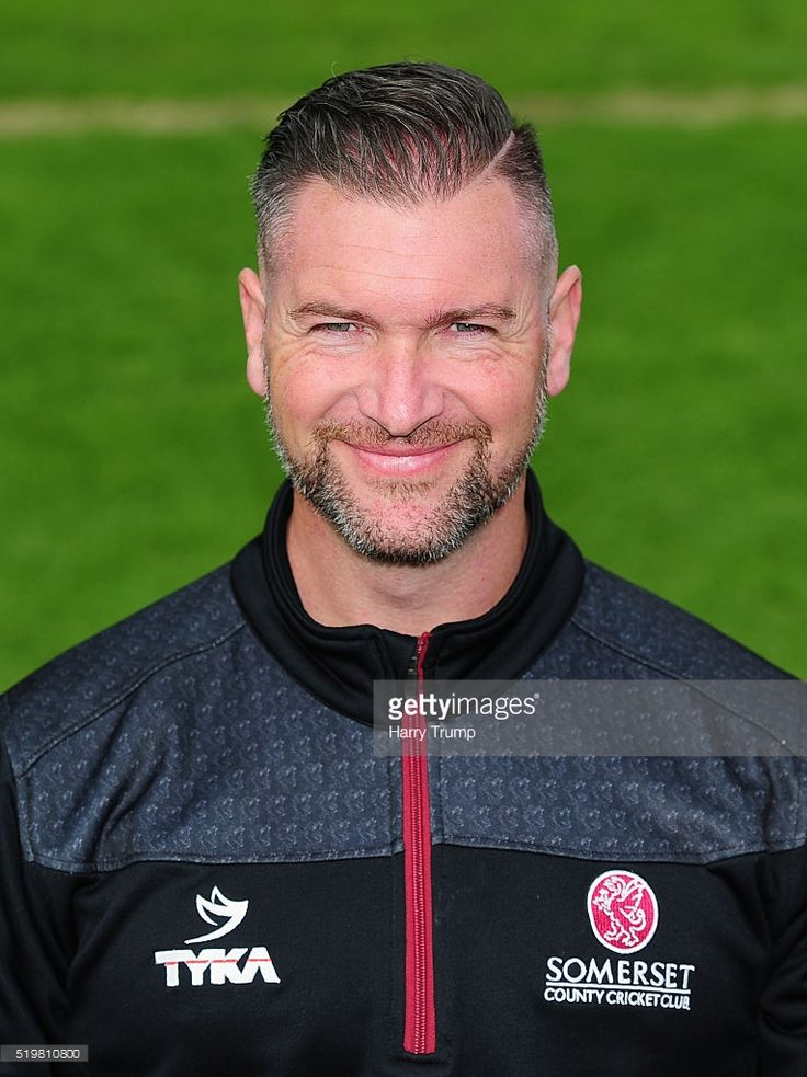 Darren Veness, Strength and Conditioning Coach during the Somerset CCC Photocall at the County Ground on April 8, 2016 in Taunton, England.