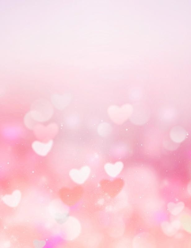 Pink Bokeh Hearts Abstract Backdrop For Wedding Photography Backdrop Phone Wallpaper Pink Valentines Day Background Backdrops