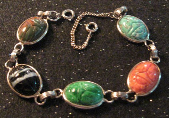 Scarab Bracelet...gasp..Mom had one of these back in the 70's...