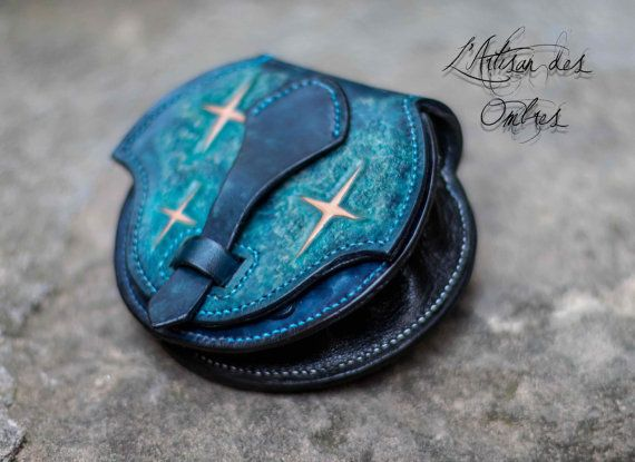 Fantasy purse: Titan's constellation by LArtisandesOmbres on Etsy