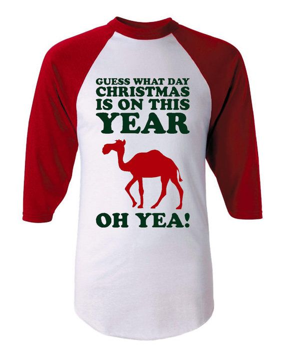 Hump Day Guess What Day Christmas Falls On This Year Oh YEA Hump Day Awesome Holiday T Shirt Fantastic Jersey Style Holiday Hump Day Shirt on Etsy, $18.95