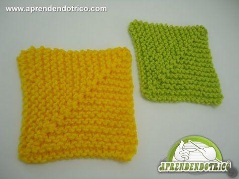 Acesse nosso site e assista mais vídeo aulas de trico e receitas de tricô passo a passo: http://aprendendotrico.com Com o quadrado perfeito você pode criar d...