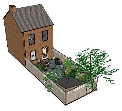 Dit is het eerste artikel met uitleg hoe je zelf een tuinontwerp kunt maken met de gratis software Google SketchUp. Lees hier hoe je de software installeert en alvast een voorbeeld tuin kunt bekijken.