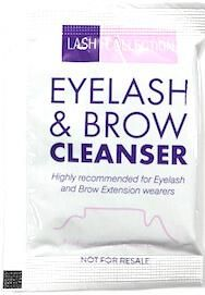 Lash and Brow Gel Cleanser Sample (10 pack)