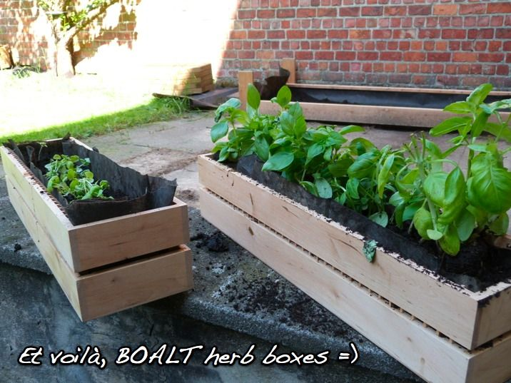 Proof that *almost* anything can be a container garden. Ikea cd shelves used as an herb garden. Click through to IKEA Hackers for the step-by-step.: Idea, Herb Boxes, Ikea Hacks, Ikea Hackers, Cd Racks, Rack Planter