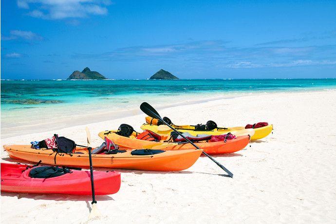 Самые красивые пляжи мира: LANIKAI BEACH, ОАХУ, ГАВАЙИ