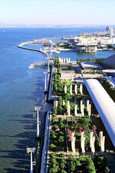 #Lisbon's north riverbank - Park of the Nations #Portugal