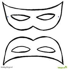 kleurplaten venetiaanse maskers