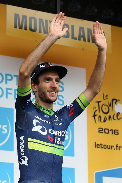 #TDF2016 Adam Yates of Great Britain and OricaBikeExchange retains the white jersey of best young rider following stage 19 of the Tour de France 2016 a stage...