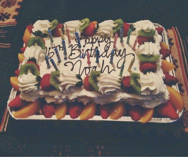 Pretty Fruit-Filled Tres Leche Birthday Cake
