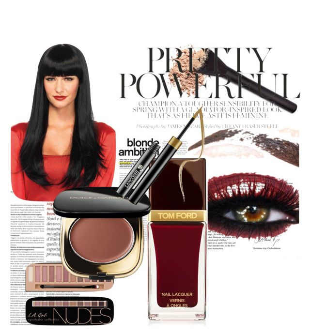 """""""Untitled #151"""" by vendys on Polyvore featuring beauty, Tom Ford and Dolce&Gabbana"""