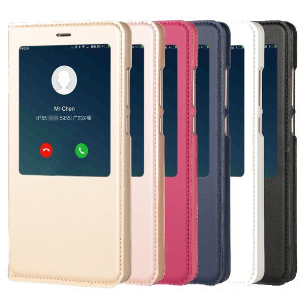 Smart Window PU leather Flip Protective Case For Xiaomi Redmi Note 4X/Note 4 Global Edition Sale - Banggood.com