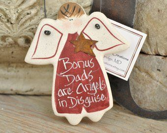 Father's Day Gift for Dad Salt Dough Ornament