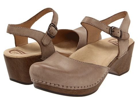 I am a huge Dansko Fan.  Wore them everday climbing steep stairs in tuscany and my feet thanked me! Worth every penny!