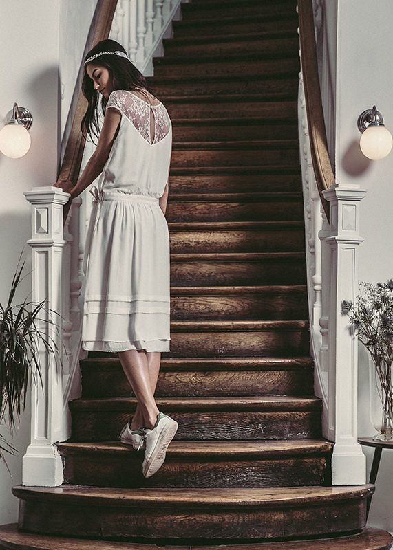 Robe Balzac & couronne Sidonie Lemaitre