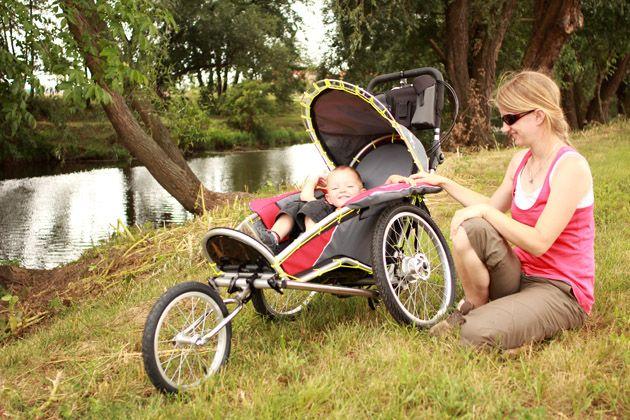 Benecykl joggen Kinderwagen und Fahrrad Anhänger