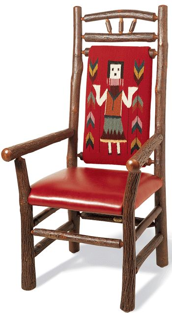 Corn Dancer chairs from Old Hickory Furniture
