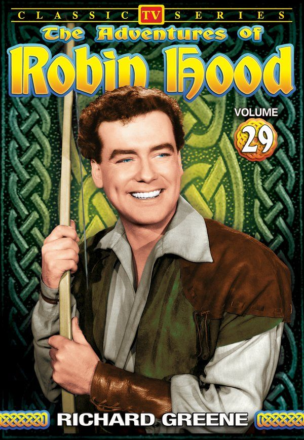 Adventures of Robin Hood - Volume 29: 4-Episode Collection DVD-R (1958) - Television on Starring Richard Greene; Directed by Terry Bishop & Peter Seabourne; Alpha Video $5.95 on OLDIES.com