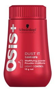 Schwarzkopf Professional OSiS+ Dust It Mattifying Powder - the perfect way to add big volume and creating that bedhead look.
