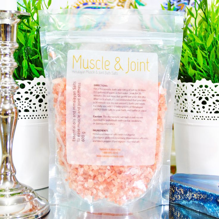 Muscle & Joint Bath Salts